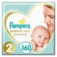 Подгузники Pampers Premium Care 4-8 кг, 2 размер, 160 шт..
