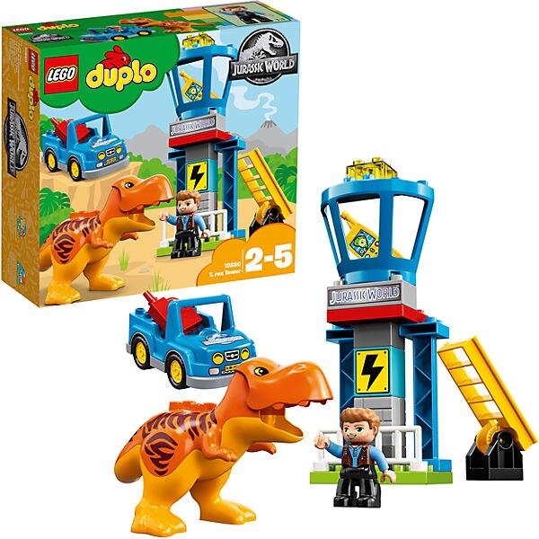 Designer  Constructor LEGO DUPLO 10879 T-Rex Tower Children Toys Blocks Construction Child 8005842 MTpromo