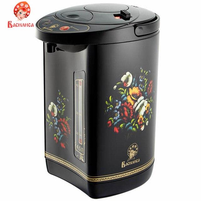 Чайник-термос термопот ВАСИЛИСА ТП5-900   900 Вт, 4,5 л, 3 способа подачи воды (производство Россия)