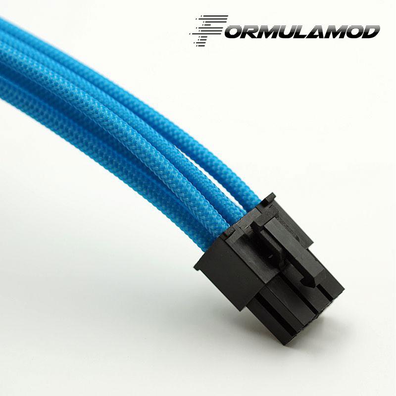 FormulaMod Fm-PCI8P-A, PCI-E 8Pin GPU удлинитель питания, материнская плата 18AWG 8Pin многоцветные соответствующие кабели расширения - Цвет лезвия: Sky Blue