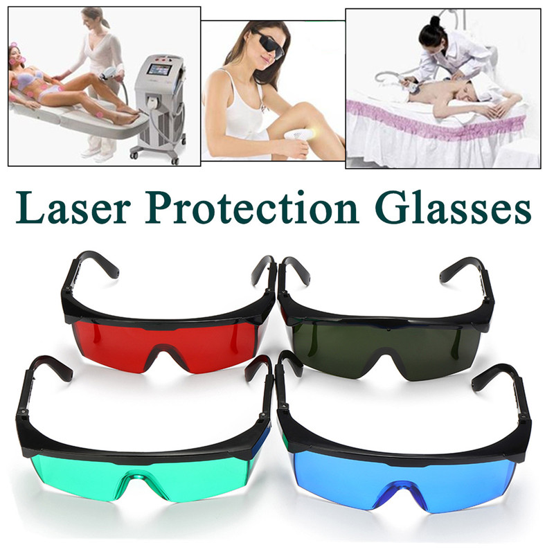 Laser Protection Goggles Red Blue Green Dark Green Visible Light All-round Absorption for Beauty Equipment Laser Hair RemovalLaser Protection Goggles Red Blue Green Dark Green Visible Light All-round Absorption for Beauty Equipment Laser Hair Removal