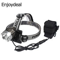 2000 Lumens Bicycle Bike Light 4 Modes T6 LED Bicycle Bike Light Headlamp Head Light 100v 240v Battery Charger