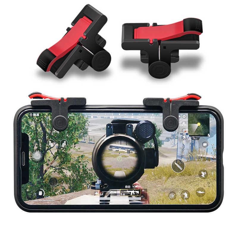 NO LOGO Bot/ón Mobile Controller L1 R1 Tel/éfono Gamepad Disparo de gatillo Objetivo Clave l1r1 Tirador Pubg Controller for iPhone Android