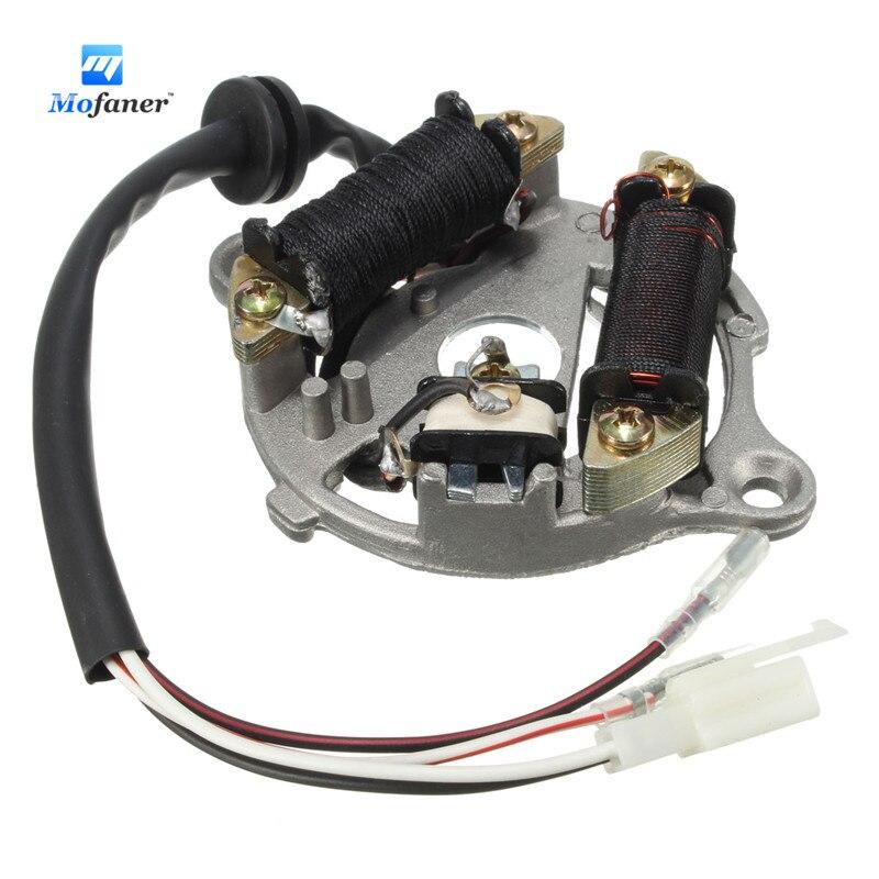yamaha qt 50 wiring diagram 1 piece stator plate ignition magneto for    yamaha    pw50 pw  1 piece stator plate ignition magneto for    yamaha    pw50 pw
