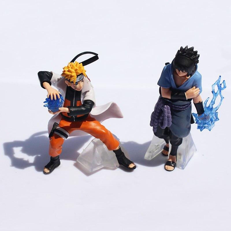 """4/"""" New 5pcs Saruke Nagato Naruto Anime PVC Dolls Action Figure Set Toys Gifts ♫"""
