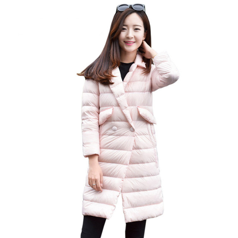 Large Size Winter Jacket Women's New Hooded Slim Medium In the long section Winter Park Cotton Jacket