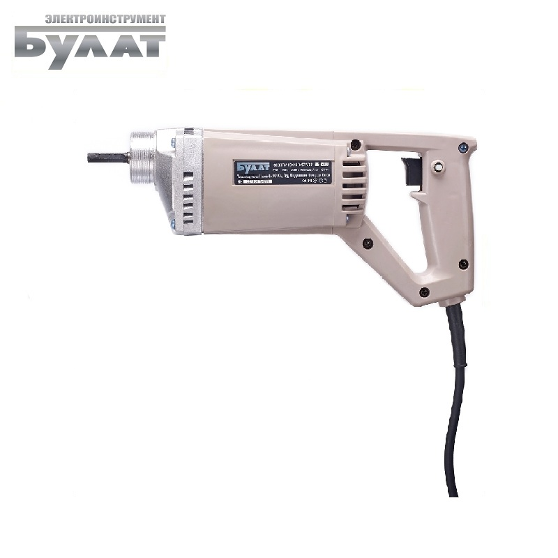 Electric hand vibrator Bulat VB 1200 Oscillator Concrete Vibration Processing Vibration exciter цена