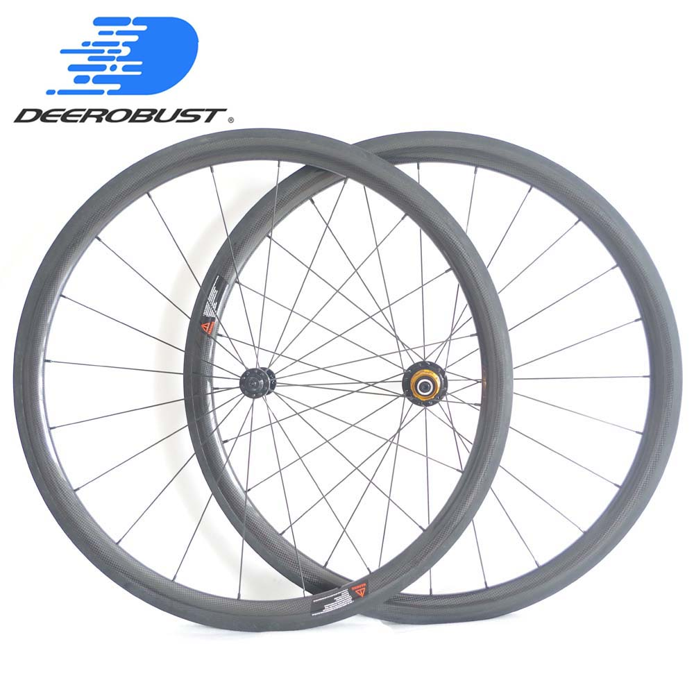 1269g Tubeless Ready Lightest 700c 38mm U Shape Carbon Clincher Road Bike Wheels Bicycle Wheelset Extralite/Dati Hubs 20 24 Hole