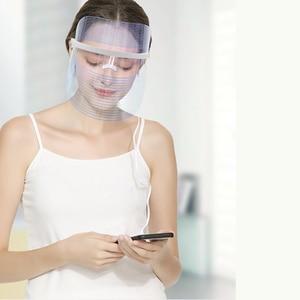 Image 2 - Led פנים מסכת טיפול עור התחדשות נגד הזדקנות פנים מסכת יופי סלון ביתי יופי Led טיפול מכונת לאישה איש