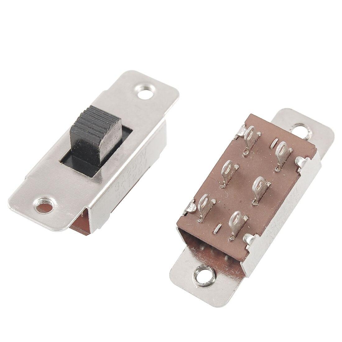 DIY Switch Lot de 2x Interrupteur 2 positions 3 Pin 3,7 x 8,5 ON//OFF Arduino