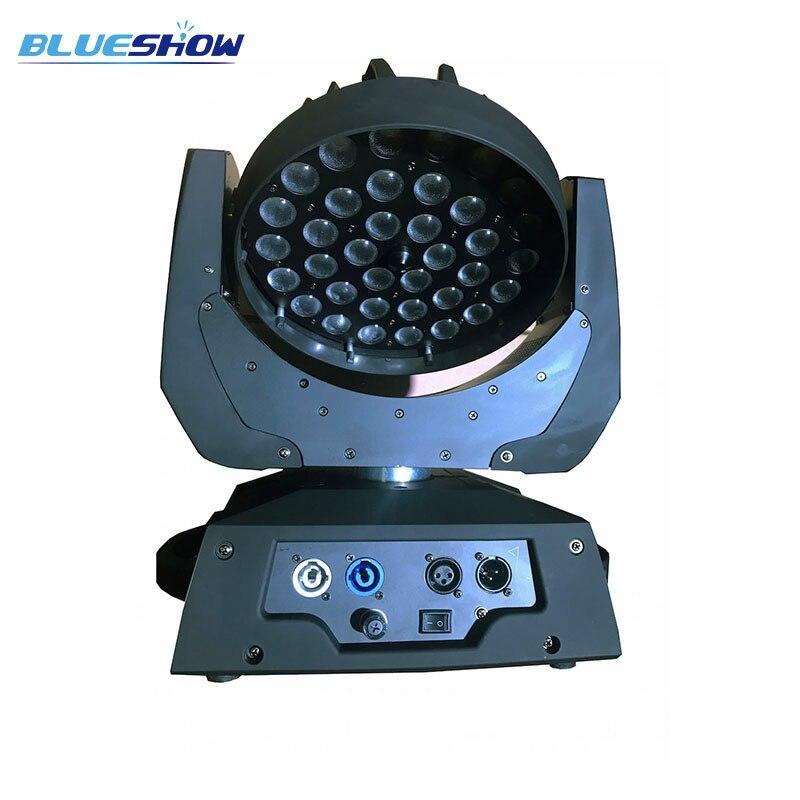 zoom 36x10w led moving head wash light