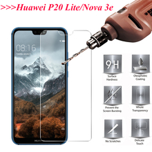 2PCS Screen Protector Glass For Huawei P20 Lite Tempered Nova 3e Full Coverage P20lite
