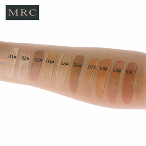 Image 3 - MRC Full Coverage Make Up Fluid Concealer Whitening Moisturizer Oil Control Waterproof Liquid Foundation Base Makeup