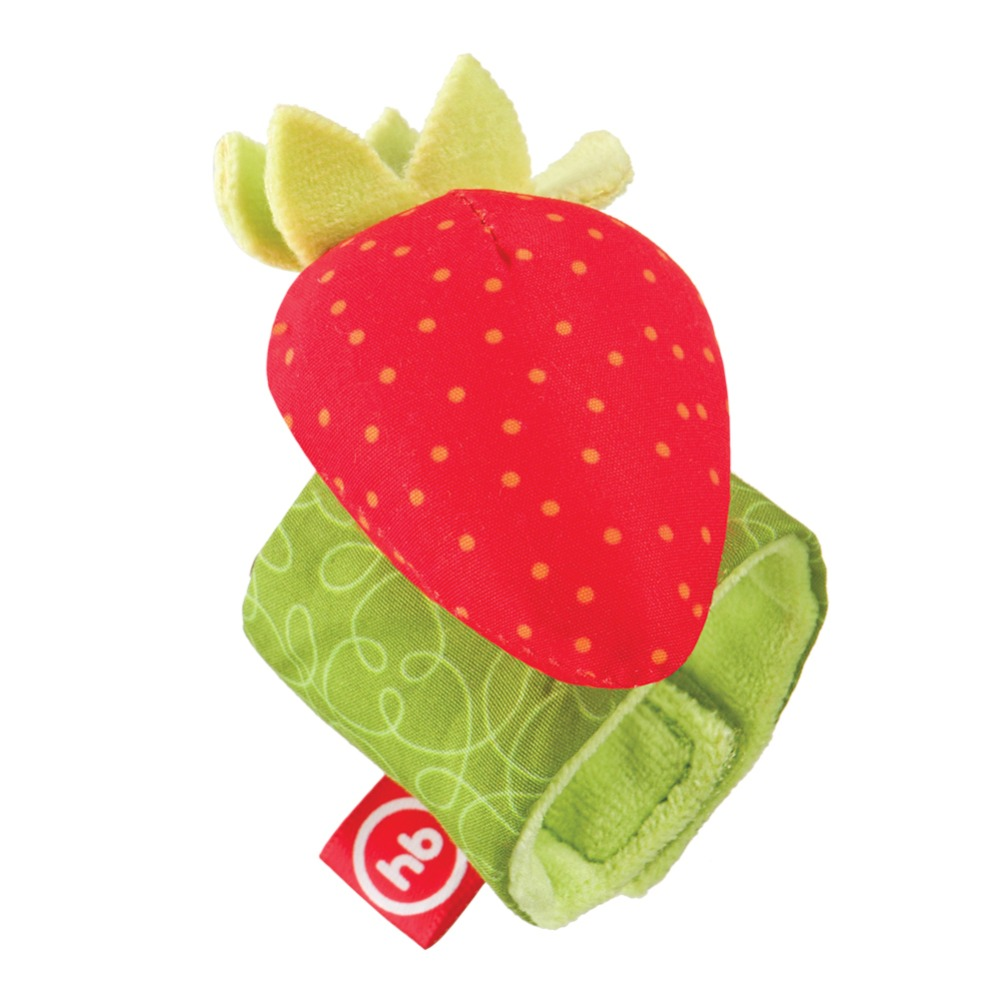 Toy-rattle on the hand Strawberry Happy Baby 330348 strawberry print pencil case