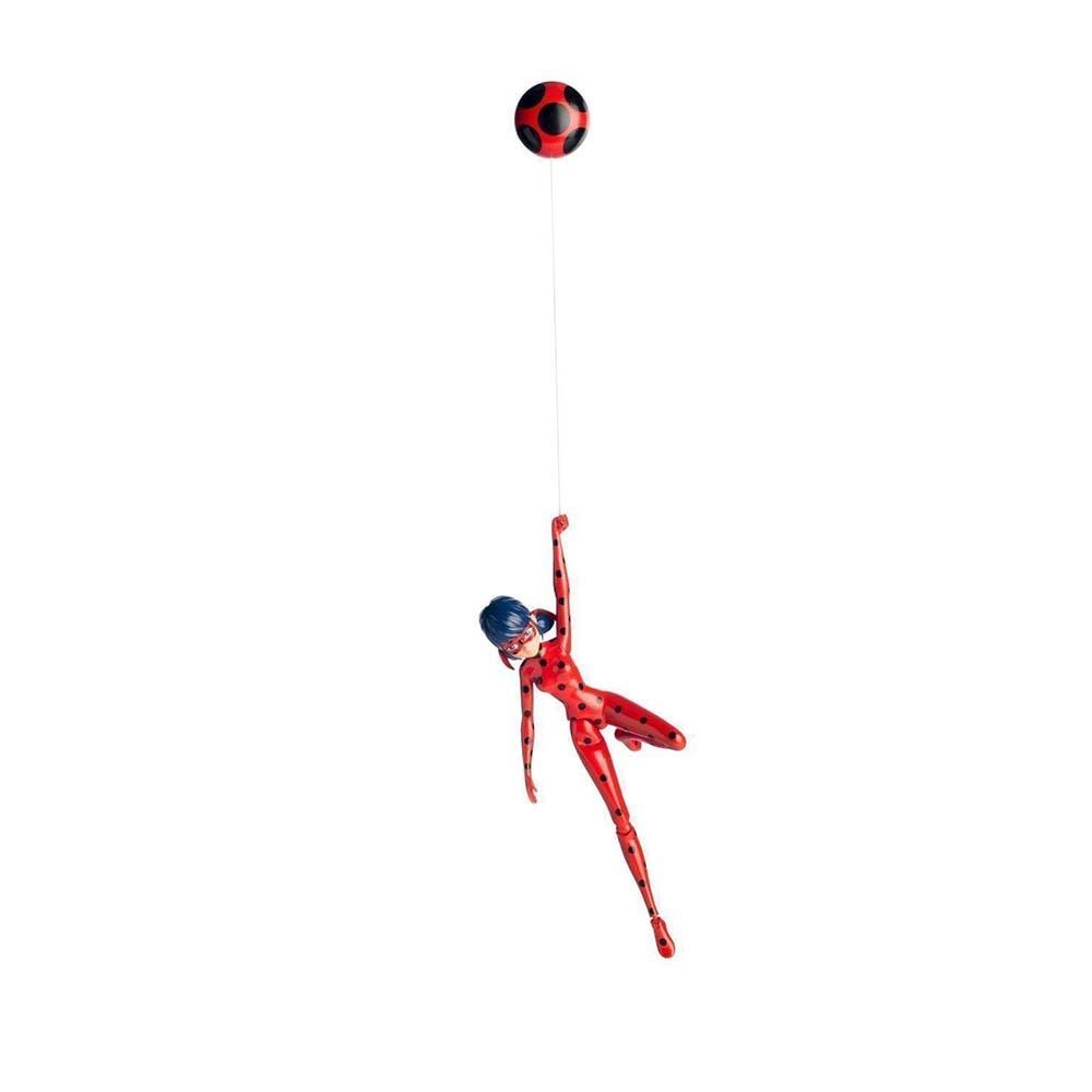 Poupée Bandai Dame Баг et Super Chat Dame Баг (Figure 19 cm) avec ventouse - 3