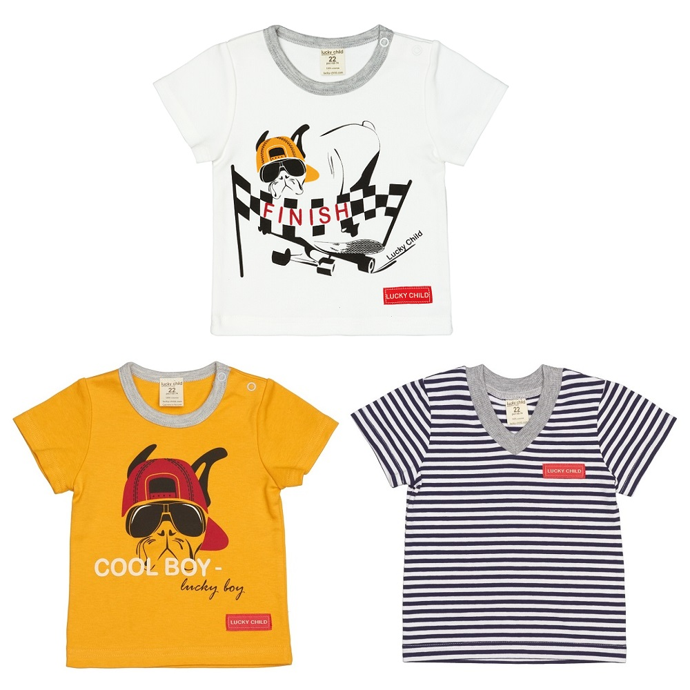 T-Shirts Lucky Child for boys and girls 44-26 Top Kids T shirt Baby clothing Tops Children clothes t shirts lucky child for girls 54 12 56 26 shirt children clothes