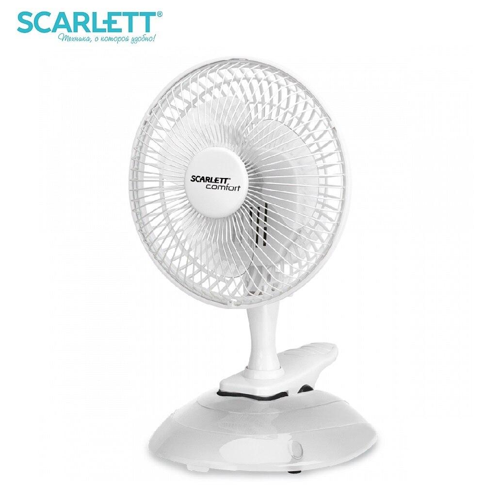 Fan desktop Scarlett SC-DF111S01 25 W fan mini air conditioner air cooler ventilation cooler fans 5pcs lot dc 12v 2 pin brushless cool cooler fan for vga graphics