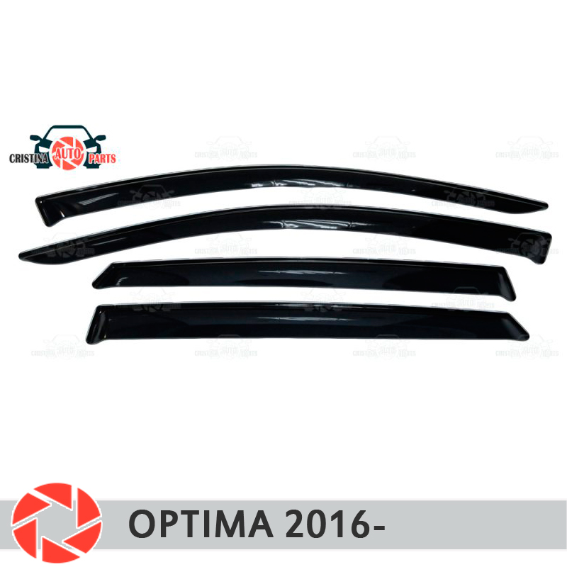 Дефлектор окна для Kia Optima 2016 rain, защита от грязи, Стайлинг автомобиля, декоративные аксессуары, литье