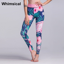 Whimsical Women Yoga Pants Elastic Sports Tights Skinny Leggings Fitness Jogging Trousers Female Gym Sexy Running Pants New