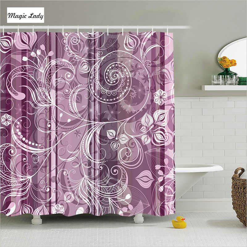 Shower Curtains Purple Bathroom