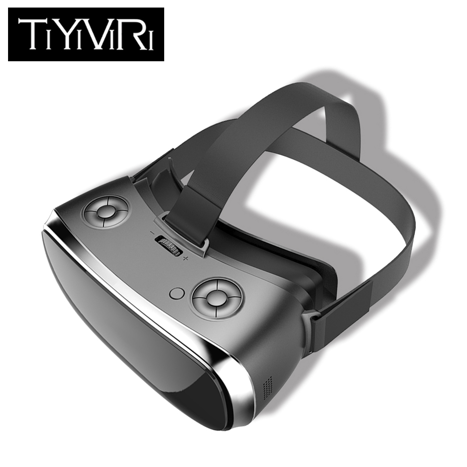 3D Glasses Cardboard 3D Virtual Reality Glasses 2560 1440 60Hz Adjustment Immersive 5 0 Inchs FHD Display All In One Headset in 3D Glasses Virtual Reality Glasses from Consumer Electronics