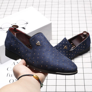 Image 3 - Men Casual Shoes 2018 Fashion Men Shoes Leather Men Loafers Moccasins Slip On Mens Flats Loafers Male Shoes