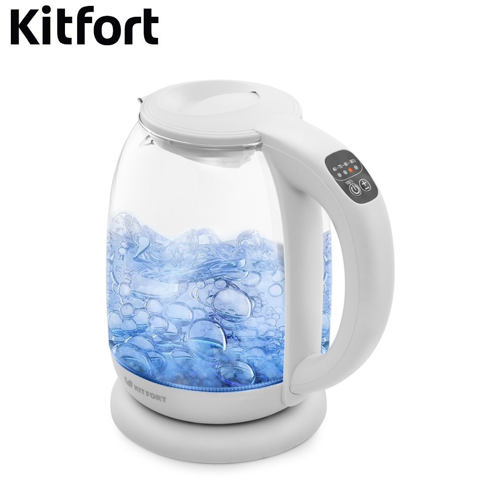 Electric Kettle Kitfort KT-640 Kettle Electric Electric kettles home kitchen appliances kettle make tea Thermo electric fashion