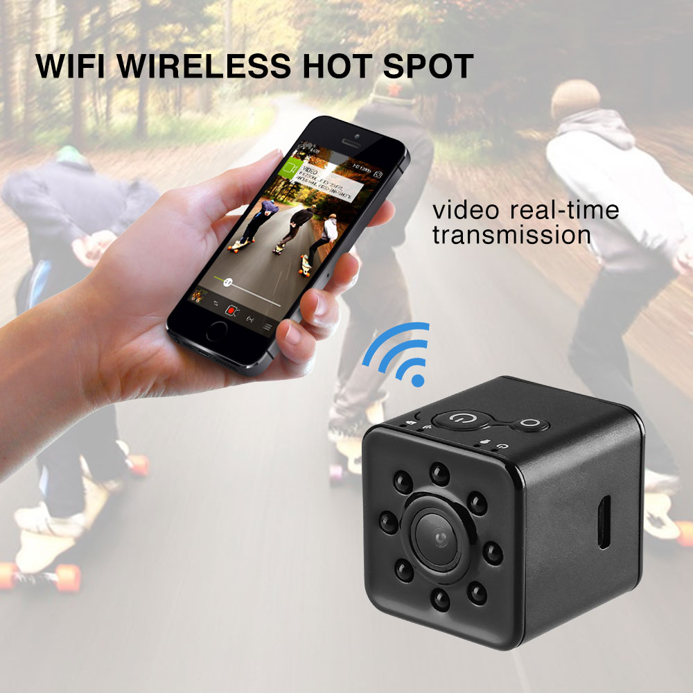 ET SQ13 Mini Camera Full HD 1080P Wifi Night Vision Wide Angle Waterproof MINI Camcorder DVR video micro Camcorders vs SQ16 S12 цена