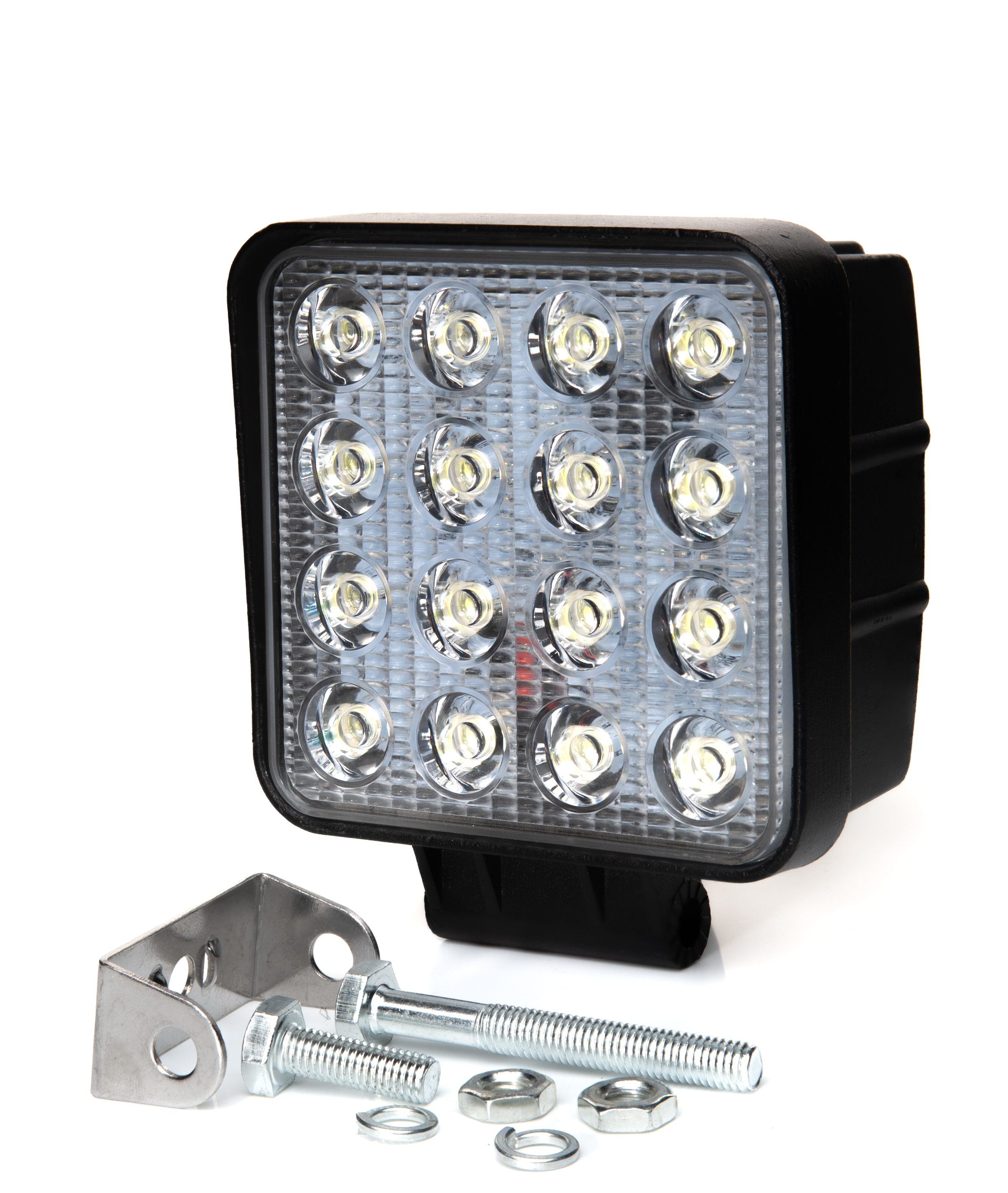 Image 5 - 48w Bulb 4x4 Led Work Light Flood Far Light Led Work Lamp ATV SUV Lamps Led Lights For Work Offroad Car Driving Day Light-in Car Light Assembly from Automobiles & Motorcycles