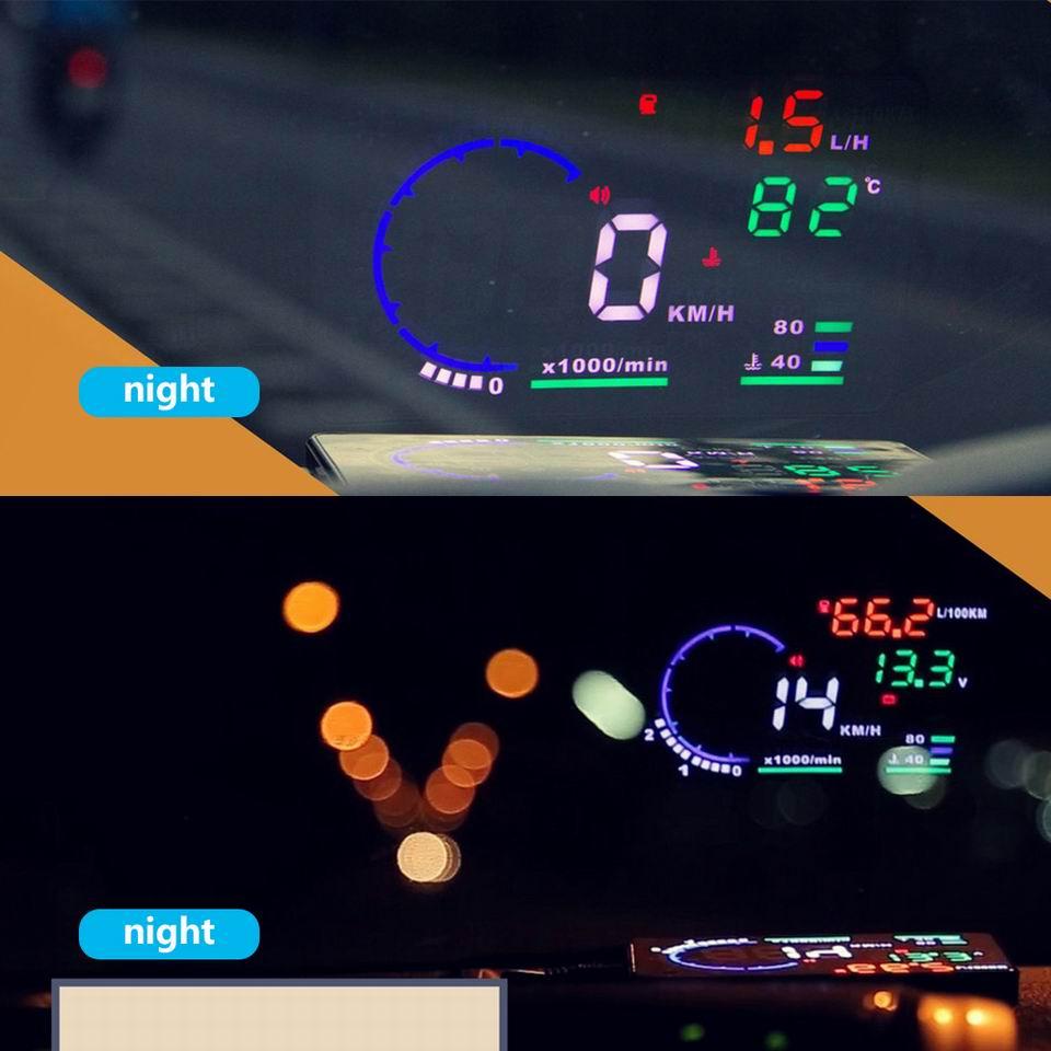 UTB8xKbQCXfFXKJk43Otq6xIPFXav - Car Head Up Display Projector Shows Speed Warning Fuel Consumption