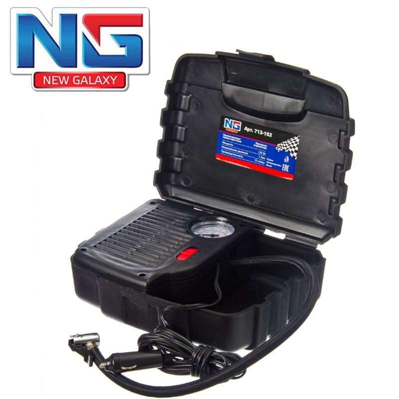 NOUVEAU GALAXY Portable 12 V Électrique Compresseur D'air Gonfleur de Pneu de Pompe avec 3 m de Long Cordon D'alimentation avec Allume-cigare Plug 713-102