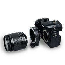 Commlite Electronic AF Lens mount adapter for Canon EOS EF EF S lens to M4 3