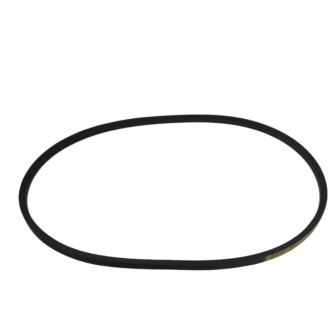 uxcell/® B80 11mm Thick 80-inch x 0.67-inch Rubber V-shaped Drive Belt Black