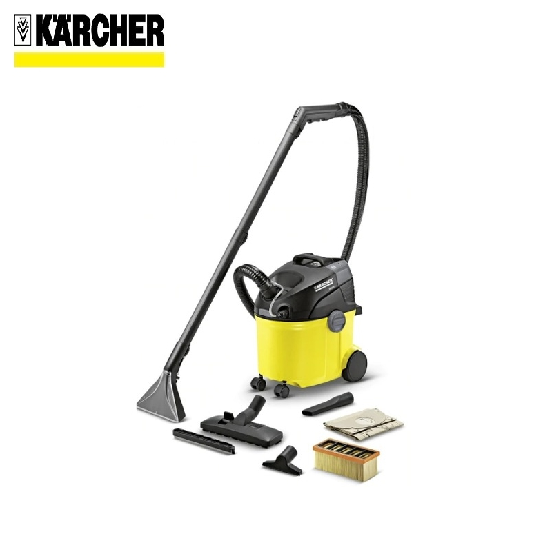 Washing vacuum cleaner Karcher SE 5.100 *EU Wet and dry hoover Dust-collecting fan Dust monitor Water cleaner vacuum cleaner wet and dry karcher ad 4 premium eu ii