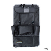 Multifunctional Auto Car Back Seat Organizer Holder Protecter For Tablet PC Mobile Phone Bag