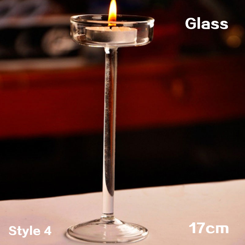 6/8/10/12 cm Candle Light Holder Stylish Light Holder Jar Round Hanging Glass Candle Candlestick porta velas Home Wedding Decor - Цвет: Коричневый