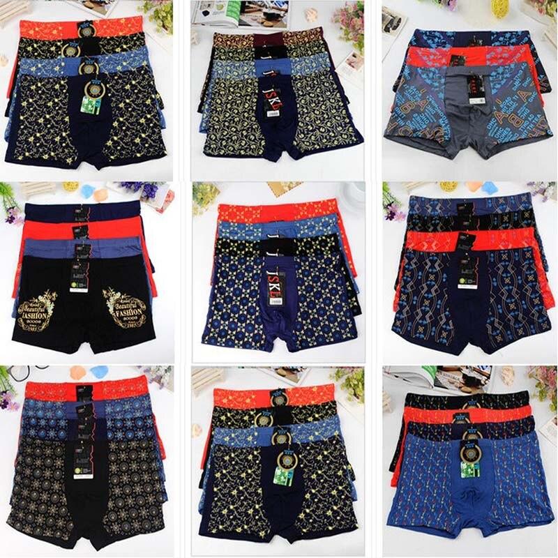 10Pack/Lot Hot Men Boy Breathable Underwear Boxer Underpants Gentle Man Male Shorts Bulge Pouch XXL-5XL 6XL 7XL Men Boxers