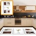 Sonst Tasse Kaffee Topf Kaffee Bohnen Blumen 3d Print Non Slip Mikrofaser Küche Moderne Dekorative Waschbar Bereich Teppich Matte-in Teppich aus Heim und Garten bei