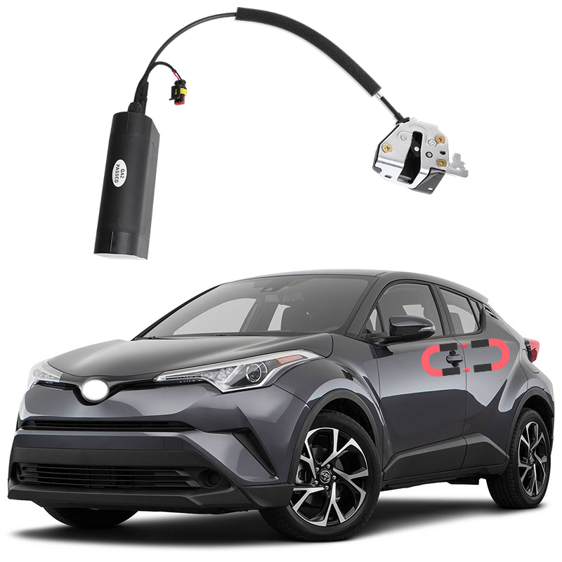 NEW For Toyota CHR Electric Suction Door Automobile Refitted Automatic Locks Car Accessories Intelligence Suction Door  Ch-r