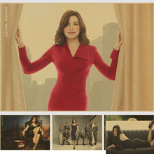 Home Wall Decor retro Print The Good Wife Promotional Tv vintage poster Room Decoration Poster Dropship
