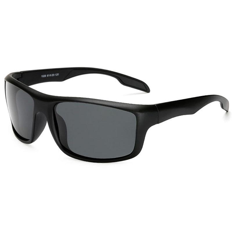 Мужские поляризационные солнцезащитные очки, брендовые дизайнерские очки для вождения, квадратные очки с ночным видением, высококачествен...
