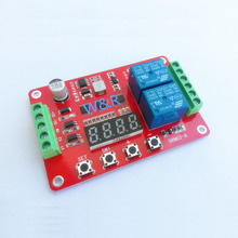 DRM02/Two-way multi-function relay module / delay self-lock cycle timing time