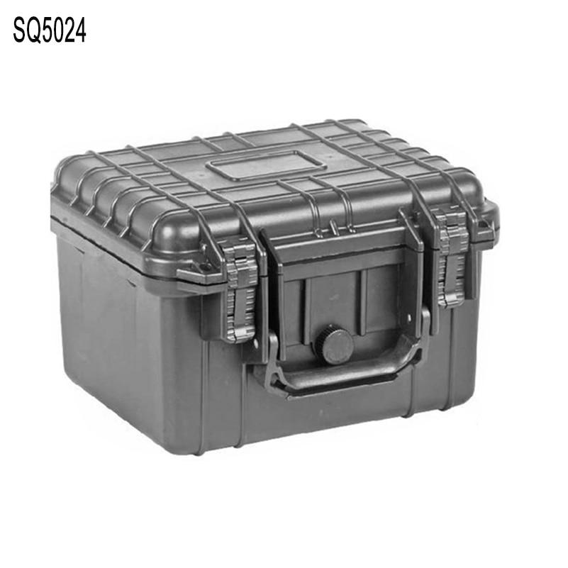 Small Size 233*178*155 Mm Internal Waterproof Shockproof Hard Plastic Case With Pick Pluck Foam On Hot Sale