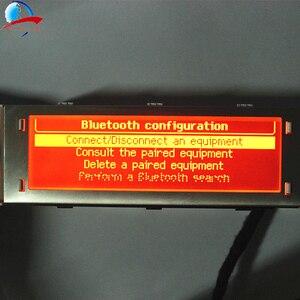 Image 5 - 12 Pin araba 4 menü ekranı kırmızı ekran desteği USB ve Bluetooth monitör Peugeot 307 407 408 citroen C4 C5 yok iklim kontrolü