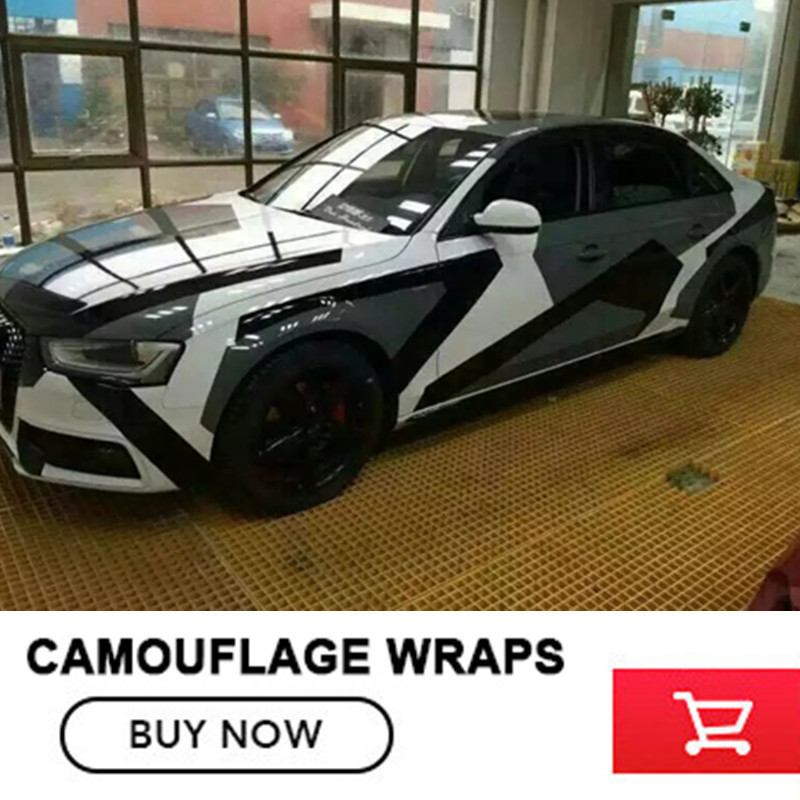 Car styling Black and white Camo Vinyl Wrap Car Motorcycle Decal Mirror Phone Laptop DIY Styling Camouflage Sticker Film Sheet стоимость