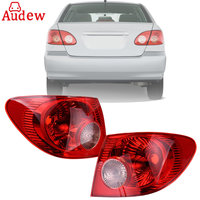Red Car Tail Light Assembly Rear Turn Light Left Right Driver Side Tail Light Brake Lamp