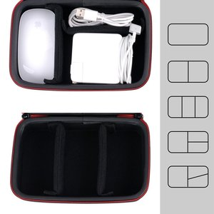 Image 3 - Smatree Hard Case A90 for Apple Pencil, for Magic Mouse, for Magsafe Power Adapter, for Magnetic Charging Cable
