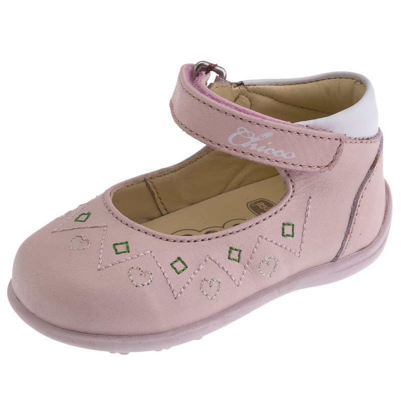 Shoes Chicco, size 190, color pink coat color pink