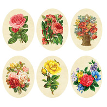 1/Pc New Arrival Sticker Wc Pedestal Pan Cover Rose Flower Toilet Sticker Stool Commode Sticker Home Decor 22*28cm Fashion