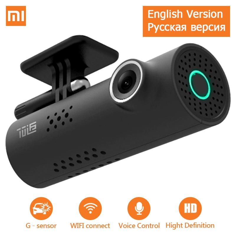 Xiaomi 70mai voiture DVR caméra Full HD 1080 P commande vocale Dash Cam 70 mai voiture caméra WiFi Vision nocturne g-sensor Auto enregistreur Cam